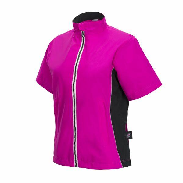 Pink Short Sleeve Jacket